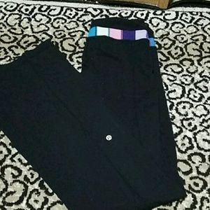 Lululemon pants + bag